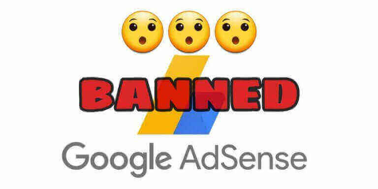 Google AdSense closed