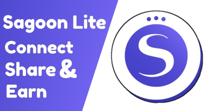 Sagoon lite connect share and earn