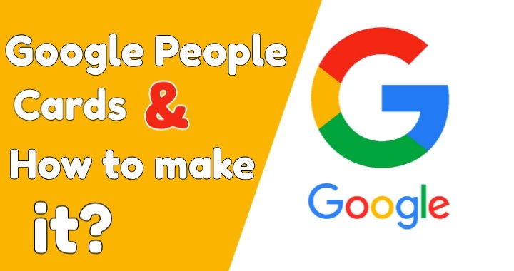 Make Google people card